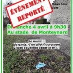 Le rendez-vous du 4 avril pour le ramassage de déchets est reporté en raison de la situation sanitaire