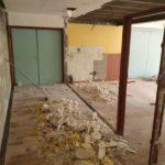 Le chantier de rénovation de cuisine de la salle polyvalente a débuté