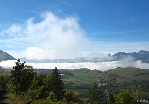 vue depuis la route forestière