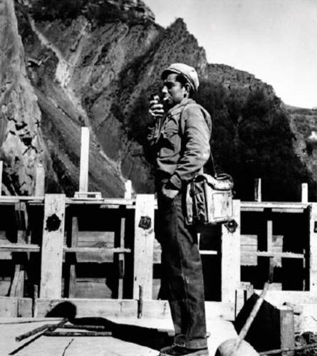 Ouvrier du barrage