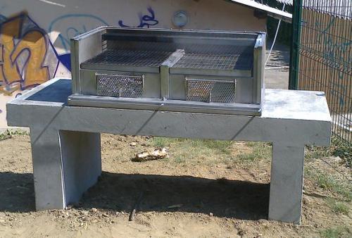 barbecue du stade