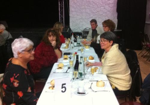 Noël des seniors au restaurant