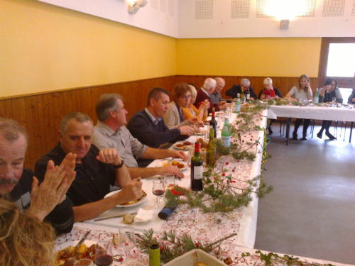 repas de Noël des anciens